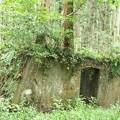 磐田市 雨垂(うたり)の森 光明電気鉄道遺構鉄道遺構