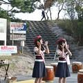 磐田市イメージキャラクター「しっぺい」を踊る磐田観光大使