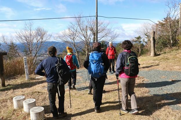今朝の富幕山
