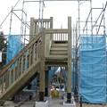 Photos: 富幕山猪の平展望台改修工事
