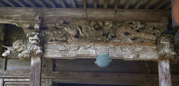 森 「大洞院、だいとういん」 昇り竜かな~彫刻