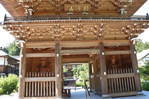 菊川市 正林寺(しょうりんじ)山門平成二八年再建