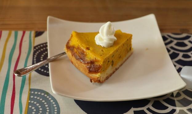 ちゃちゃカフェ かぼちゃタルト