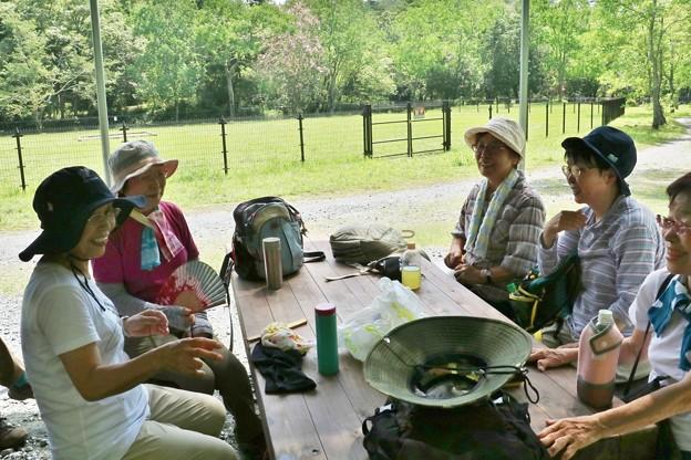 森林公園報告会旧山友とその仲間