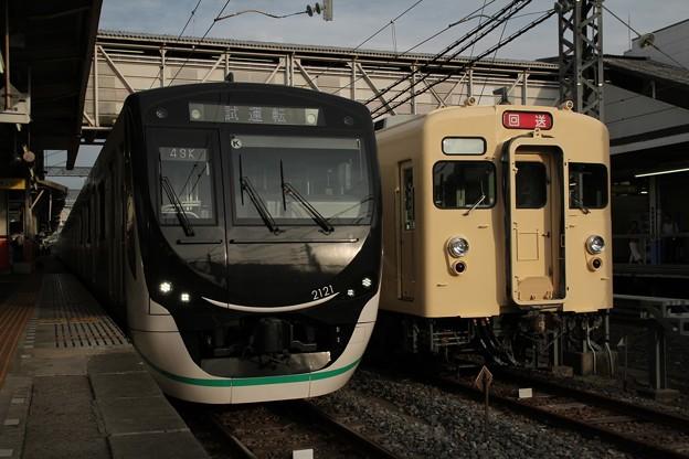 東武8111F 東急2021F