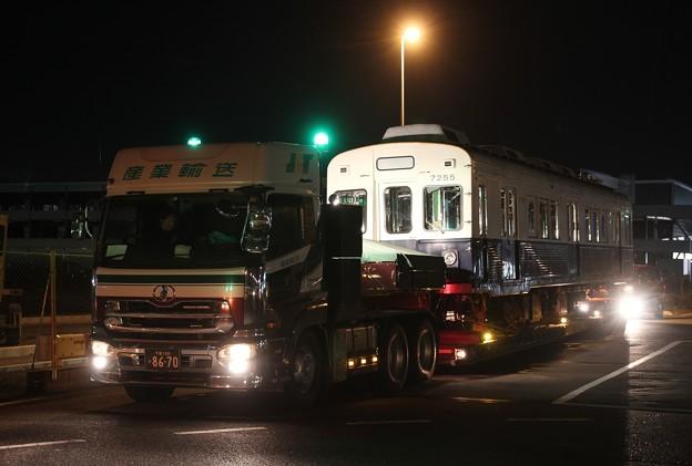 上田電鉄7255 陸送