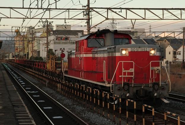 Photos: DD51 1192+ロンチキ