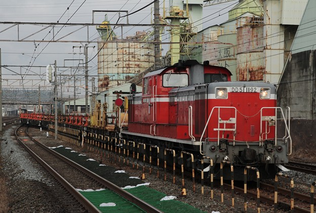 DD51 1192+ロンチキ
