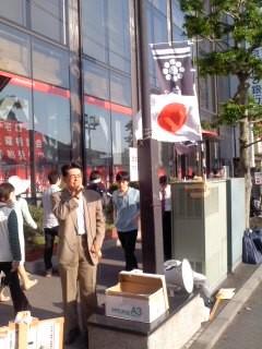 弁士・高橋賢一氏(5月4日、鎌倉保守の会)