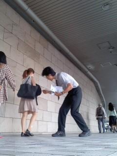 フットワーク(7月1日、角田晶生)