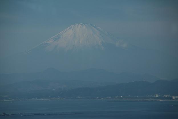 写真: 富士_江ノ島 D6345
