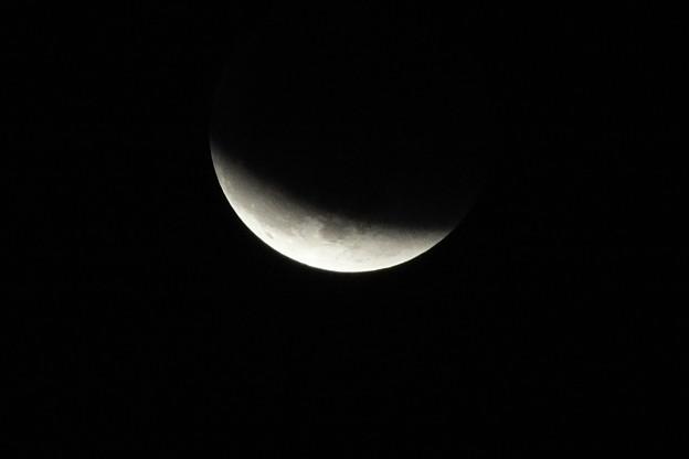 写真: 月食終盤 F1522