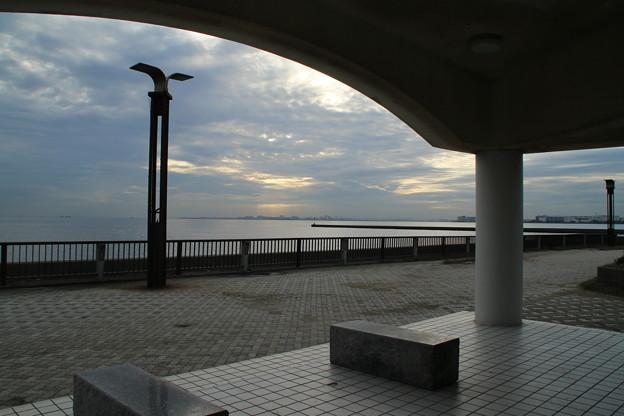 美浜の海_千葉 D8265