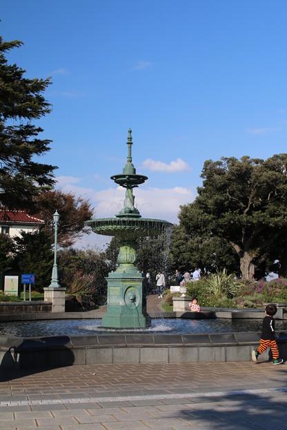 噴水_横浜 D8893