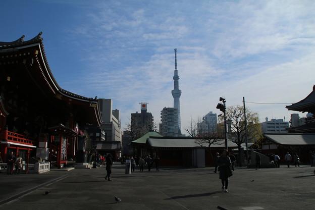浅草寺と D9354
