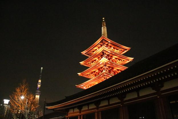 夜景_浅草 D9360