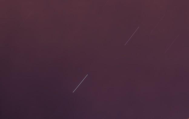 「星の軌跡」