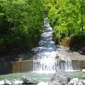 大屋の水路