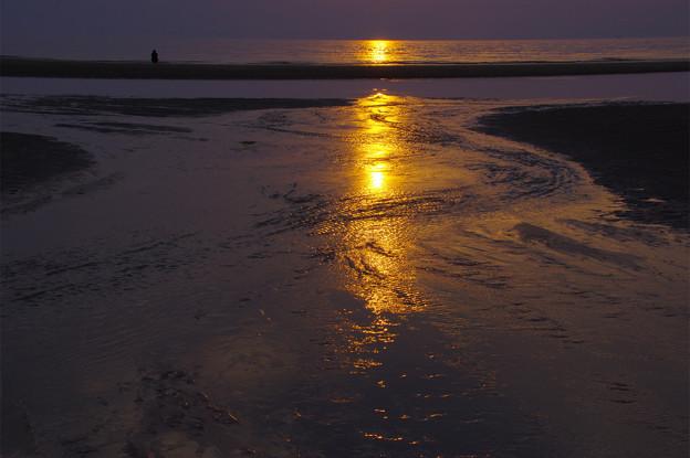 写真: 太陽の道