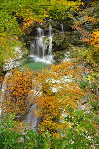 秋の滝歌1