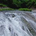 上八川川落ちる
