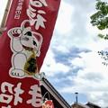 来る福招き猫祭りの初日