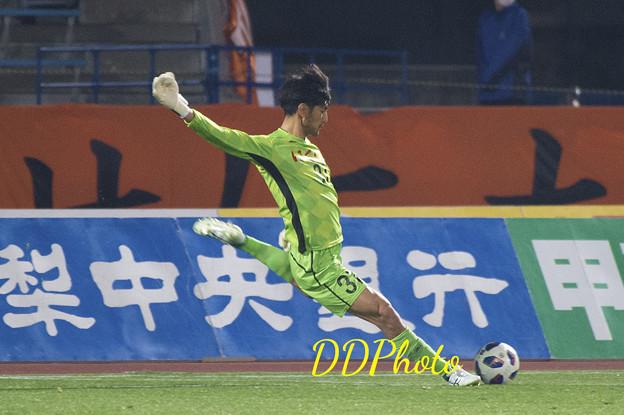 3月14日ルヴァン清水戦 岡西選手