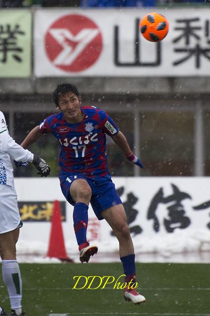 3月21日ホーム徳島戦 金園選手