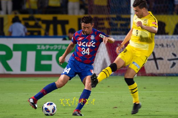 9月5日ルヴァンカップホーム柏戦 今津選手