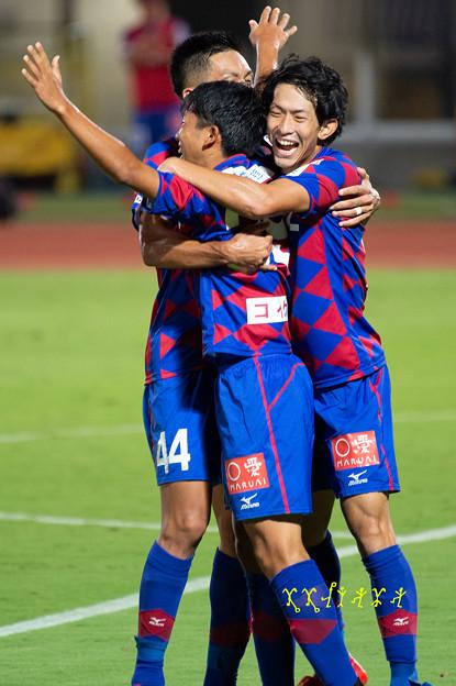 9月5日ルヴァンカップホーム柏戦 歓喜