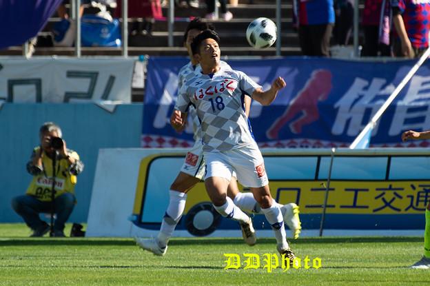 10月21日アウェイ栃木SC戦 道渕選手