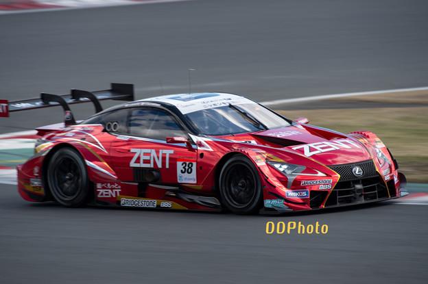 20190331富士スピードウェイ ZENT CERUMO LC500 38号車