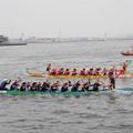 写真: 横浜ドラゴンボートレース
