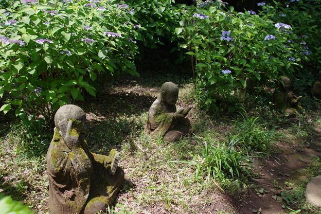 浄慶寺(柿生)の羅漢像