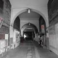 写真: 鶴見線国道駅(2色)