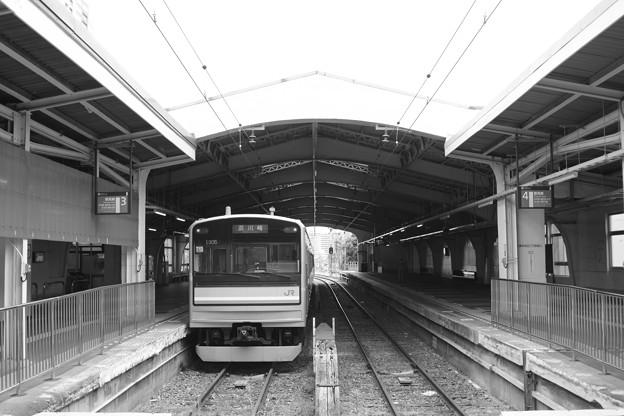 写真: 鶴見線鶴見駅