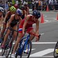 写真: 世界トライアスロンシリーズ横浜大会2018