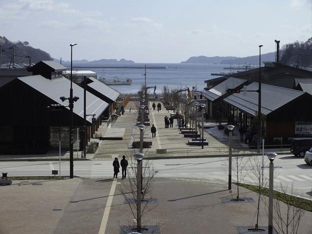 Photos: 復興が進む女川町
