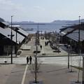 写真: 復興が進む女川町
