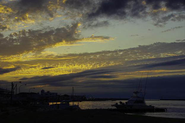 城ヶ島の夕景