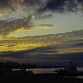 写真: 城ヶ島の夕景