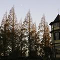 写真: 山手西洋館の夕景
