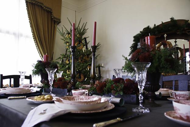 山手西洋館の食卓