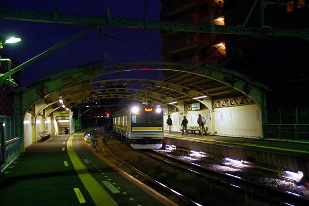 Photos: 夕闇の国道駅