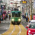 Photos: 江ノ電 併用軌道