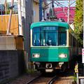 Photos: 江ノ電 路地裏を疾走