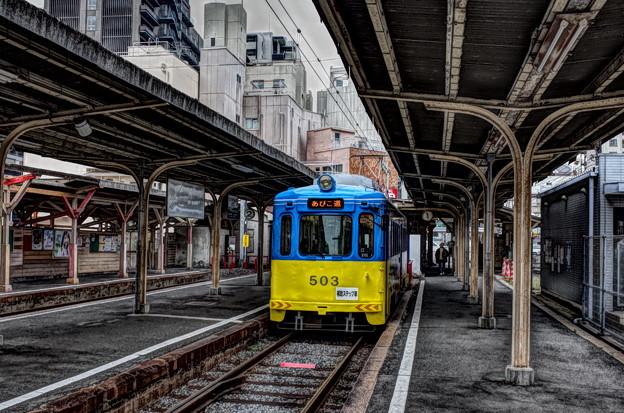 Photos: 阪堺電車 恵美須町駅