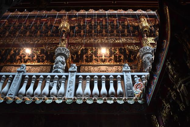 雨の清水祖師廟