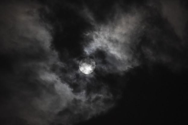 Photos: 墨染めの月