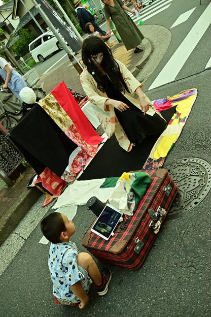 "Photos: ""ソらと晴れ女""と少年"